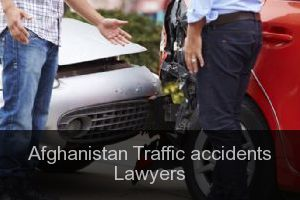 Afghanistan Traffic accidents Lawyers
