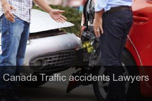 Canada Traffic accidents Lawyers