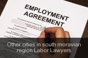 Other cities in south moravian region Labor Lawyers