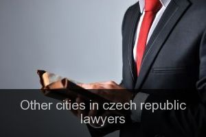 Other cities in czech republic Lawyers