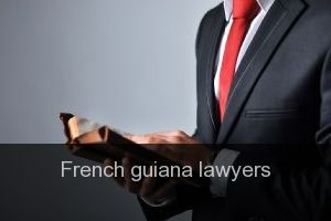 French guiana Lawyers