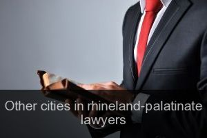 Other cities in rhineland-palatinate Lawyers