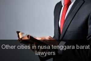 Other cities in nusa tenggara barat Lawyers