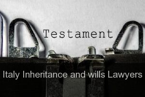 Italy Inheritance and wills Lawyers
