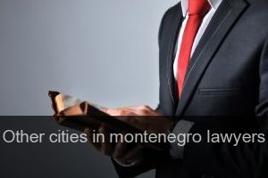 Other cities in montenegro Lawyers