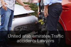 United arab emirates Traffic accidents Lawyers